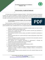 Plano de Trabalho CIPA 2014-2015