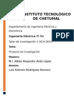 Proyecto Filtros Pasivos - Taller de Investigación Ll