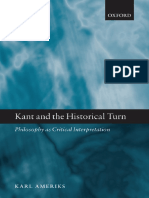Ameriks, Karl - Kant and the Historical Turn.pdf
