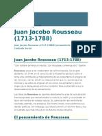 Rousseau en La Istorias