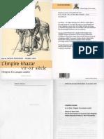 Piatigorsky Jacques - Sapir Jacques - L'Empire Khazar