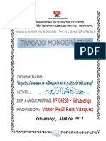 MONOGRAFIA - YAHUARANGO