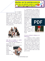 Diabetes en La Adolescencia Oct