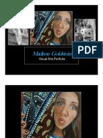 portfolio art presentation