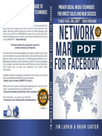 Network Marketing for Facebook Proven Social Media Techniques for Direct Sales and MLM Success