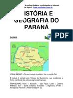 História e Geografia Do Paraná