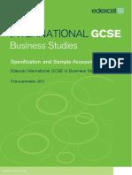 UG022510 International GCSE in Business Studies 4BS0 for Web