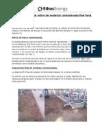 Informe Ambiental Retiro de Material Contaminado Find Fand Cooler