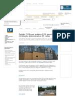 AECweb _ Painéis OSB Para Sistema CES Garantem Construção Sustentável de 63 Casas _ LP Brasil
