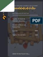 Modelo de Carta de Restaurantes
