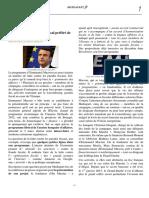 article Macron