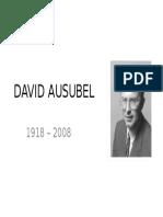 Clase 07 - Ausubel