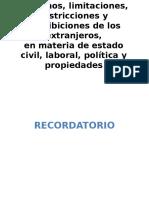 derechos de extranjeros en México