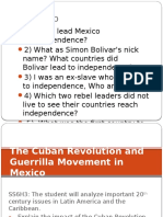 cuba and zapatista revolution use