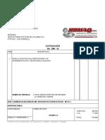 Cotización 298-10 Rodillos