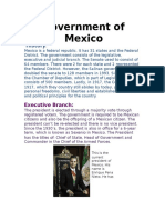 government in mexico