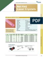 NdYAG Crystals