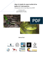 Assessments of Central American Reptiles