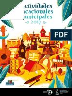 20170327 Actividades Vacacionales Municipales 2017