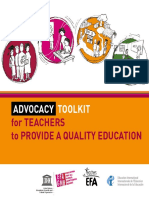 Advocacy Toolkit for Teachers