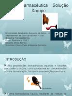 1 Forma Farmacêutica Líquida –        Xarope.pptx