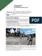 Diario de Campo Uno Universidad Pontificia Bolivariana