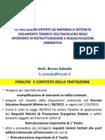 Prestazioni Materiali e Sistemi Isolamento-Arch.salsedo