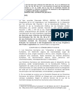 Diputada Kehila Kú - Reforma a La Ley de La Comisión Estatal de Derechos Humanos y a La Ley Órganica Del Poder Legislativo