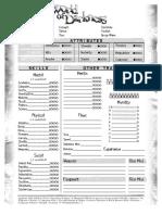 WoD Character Sheet