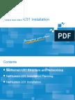 03 AG_OC017_E01 NetNumen U31(R20) Installation 50p.ppt