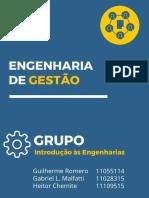 Engenharia de Gestao