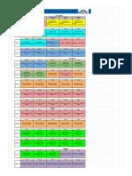 Cronograma - Especialización SENATI 2