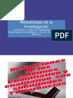 Resumen de Metodologico de La Investigacion Segun Sampieri