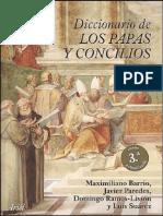 Diccionario de Papas y Concilios Tomo IV - Varios Autores