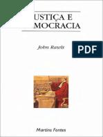John Rawls - Justiça e Democracia