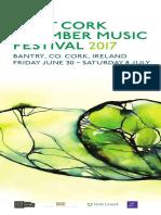 West Cork Chamber Music Festival 2017