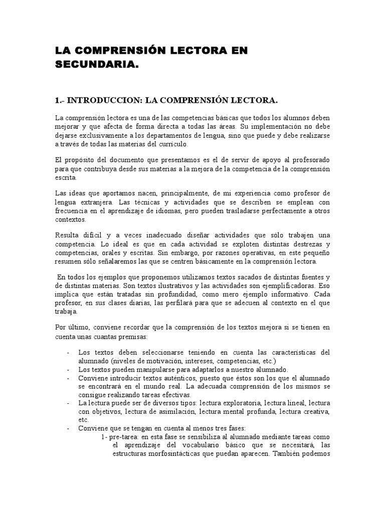 Cl Textos Secundaria