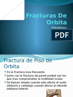 Fracturas de Orbita