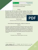 Doenças Crônicas e Homeopatia; Evolução de Um Caso Clínico