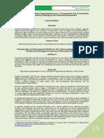 A Homeopatia e Os Modelos Experimentais Para a Compreensão Das Propriedades Físico-Químicas e Biológicas Dos Sistemas Dinamizados