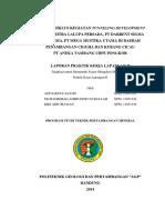 Laporan PKL II Di PT. Antam Tbk UBPE Pongkor