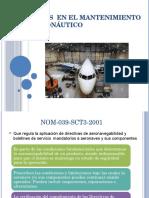 NOM_s  en el Mantenimiento Aeronáutico.pptx