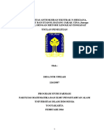 Proposal Uji Aktivitas Antioksidan Dengan Metode Linoleat Fixxx