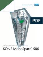 Kone Monospace 500 Planning Guide