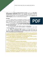 MODELO DE CONTESTAÇÃO A REINTEGRAÇÃO DE POSSE