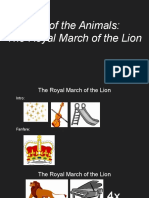 carnival of the animals- the royal march of the lion