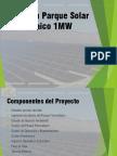 Inversion Parque Solar 1MW
