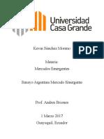 Argentina Mercados emergente