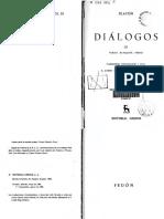 Platón. Diálogos III [Fedón, Banquete, Fedro]