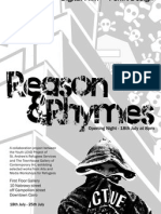 Reason&Rhymes Collection Flyer 13-7-10 1